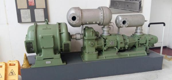 Schraubenkompressor der Gutehoffnungshütte (GHH)