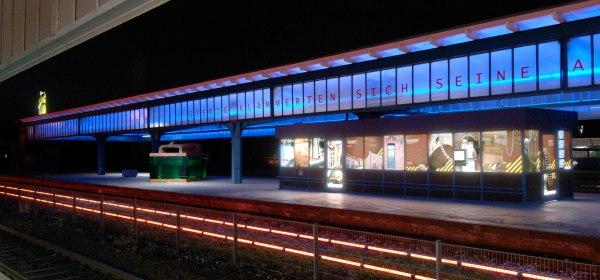 Das Kino auf dem Museumsbahnsteig der Zinkfabrik Altenberg in Oberhausen beginnt im August.